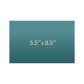"""Jumbo 5.5"""" x 8.5"""""""