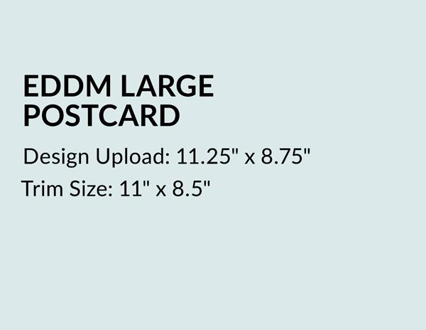 Design Upload EDDM