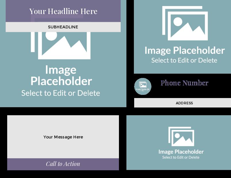 professional postcard templates  modern  quantumpostcards