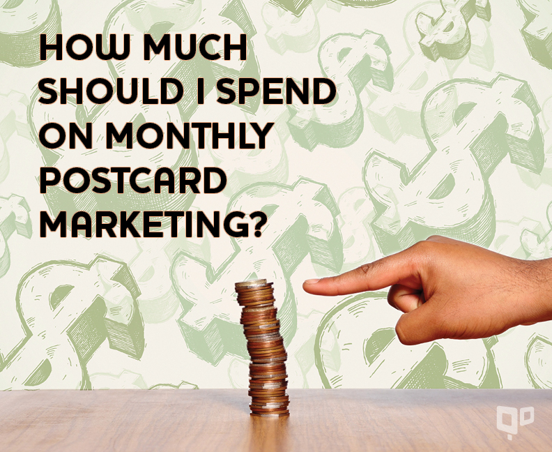 Monthly Postcard Marketing Budget