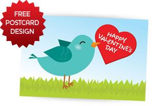 Free Valentine's Day 2014 Free Postcard
