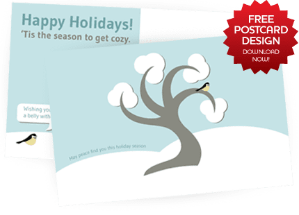 Free Holiday Postcard Design