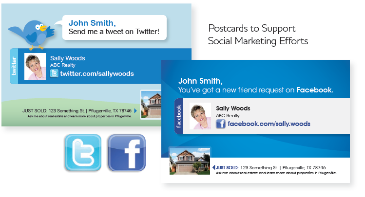 social media direct mail